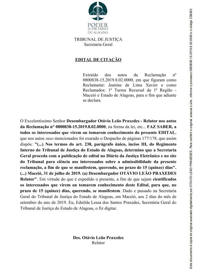 Justica Itinerante Calendario 2019 Campo Grande Ms.Poder Judiciario Do Estado De Alagoas
