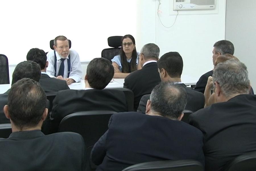 Reunião ocorreu na manhã desta sexta-feira (20), na sede da Corregedoria.