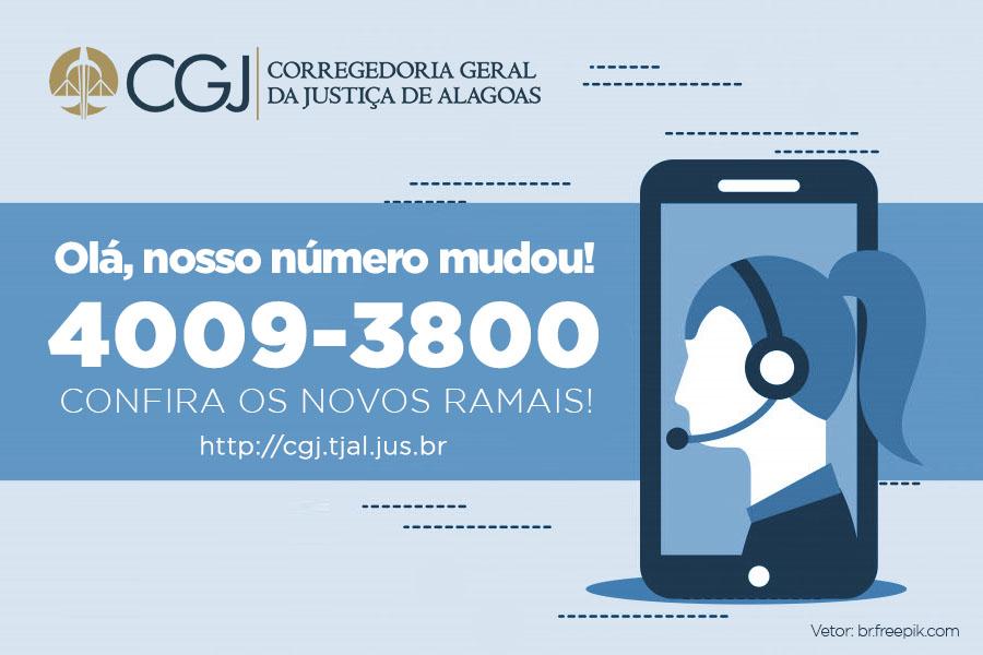 Corregedoria disponibiliza novos números de telefone dos setores