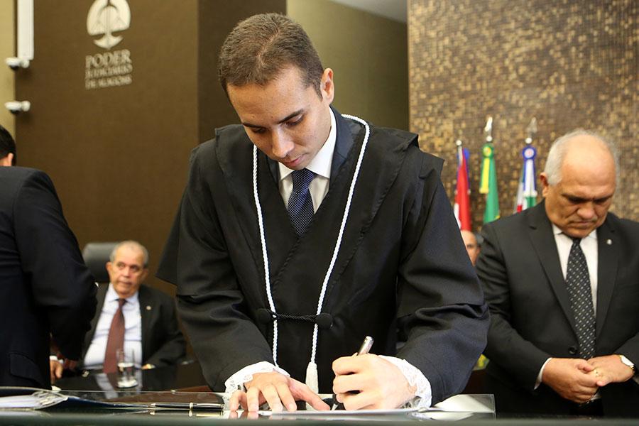 Juiz Filipe Ferreira Munguba.