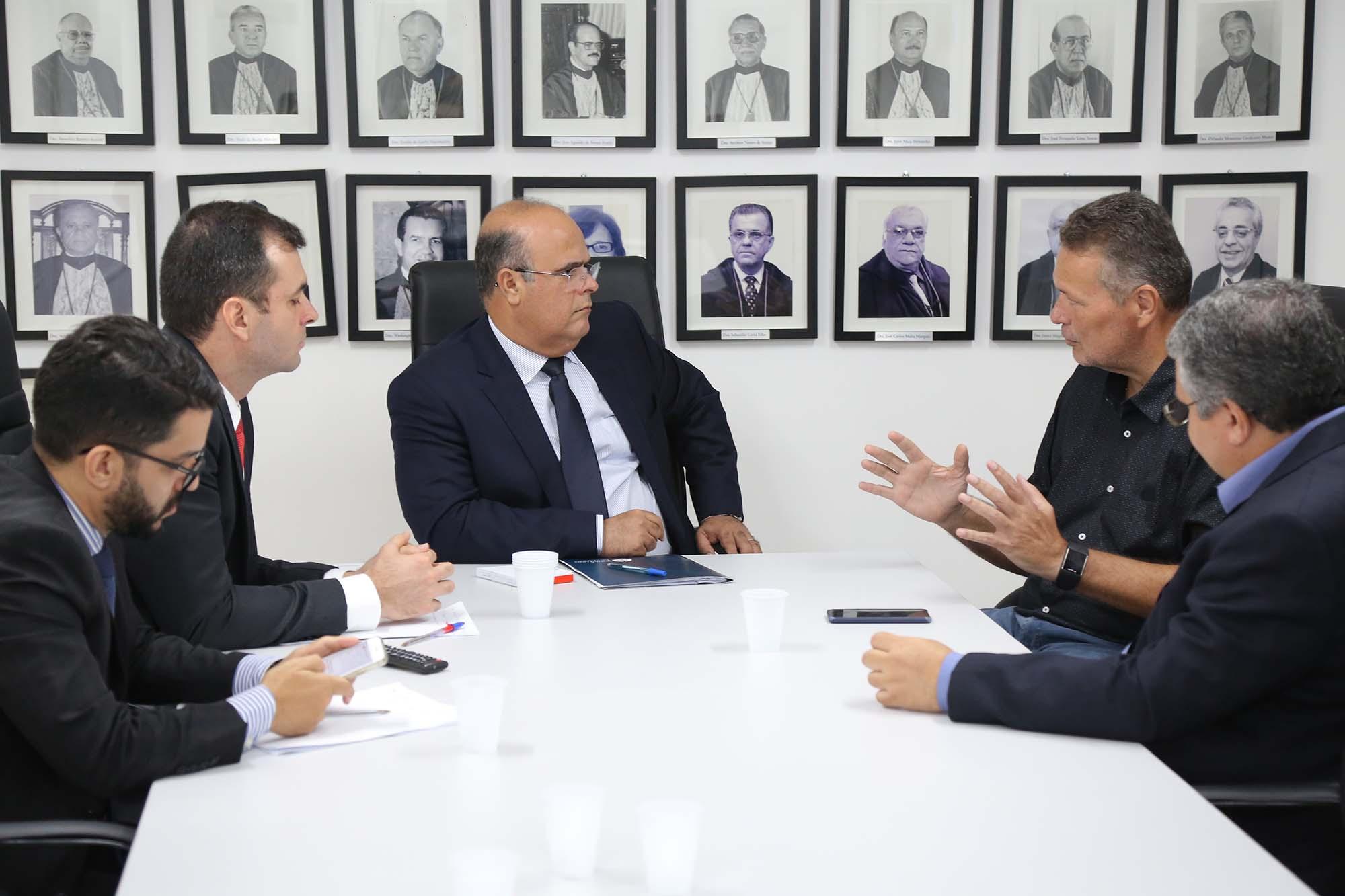 Corregedor destacou a necessidade de manter diálogo com a Segurança Pública e operadores do Direito. Foto: Itawi Albuquerque