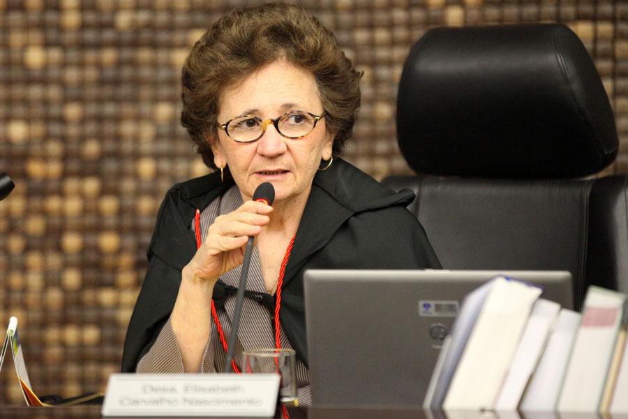 Relatora do processo, desembargadora Elisabeth Carvalho. Foto: Caio Loureiro
