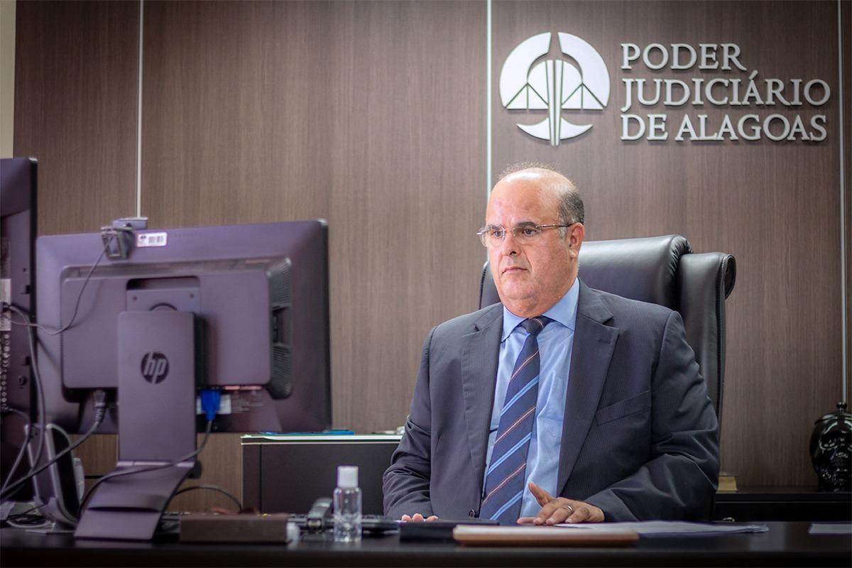Fernando Tourinho coordena Comitê de Proteção de Dados do TJAL / Foto: Itawi Albuquerque