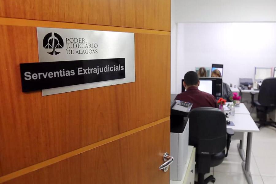 Departamento da CGJ supervisiona cartórios extrajudiciais de Alagoas