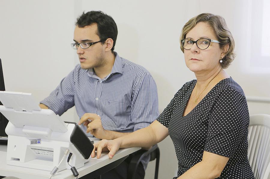 Juíza Aída Cristina, do 10º JECC.