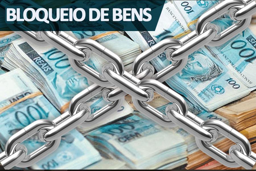 Bloqueio pode chegar a R$ 168.544,86.