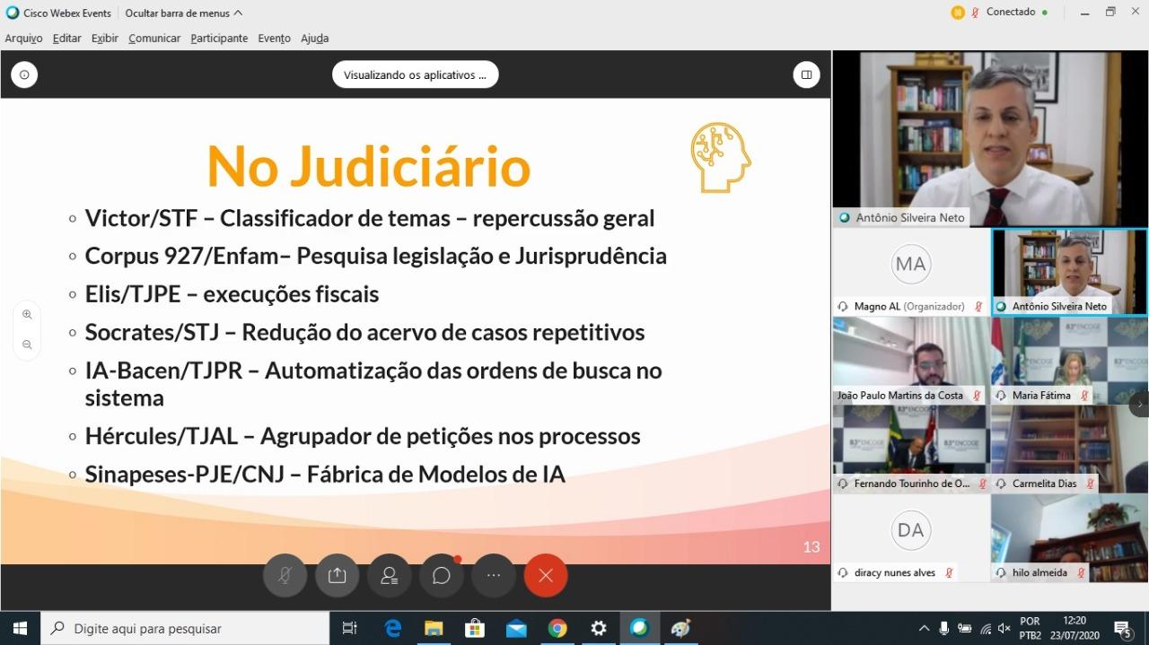 O magistrado também enfatizou a necessidade de uma interdisciplinaridade no Judiciário nacional. Arte: Itawi Albuquerque