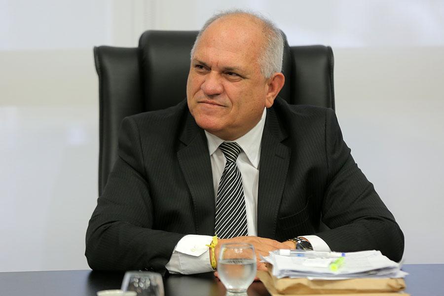 Desembargador Otávio Leão Praxedes, presidente do Tribunal de Justiça de Alagoas