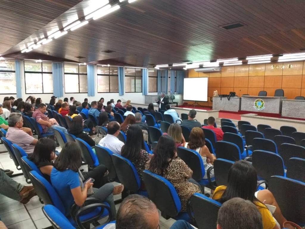 Servidores participaram da capacitação, em Arapiraca, nos dias 16 e 17 de maio.
