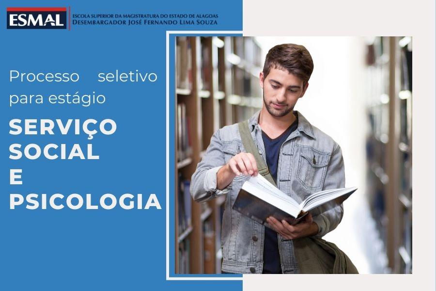 Esmal libera resultado final de seleções para estágio em Psicologia e Serviço Social