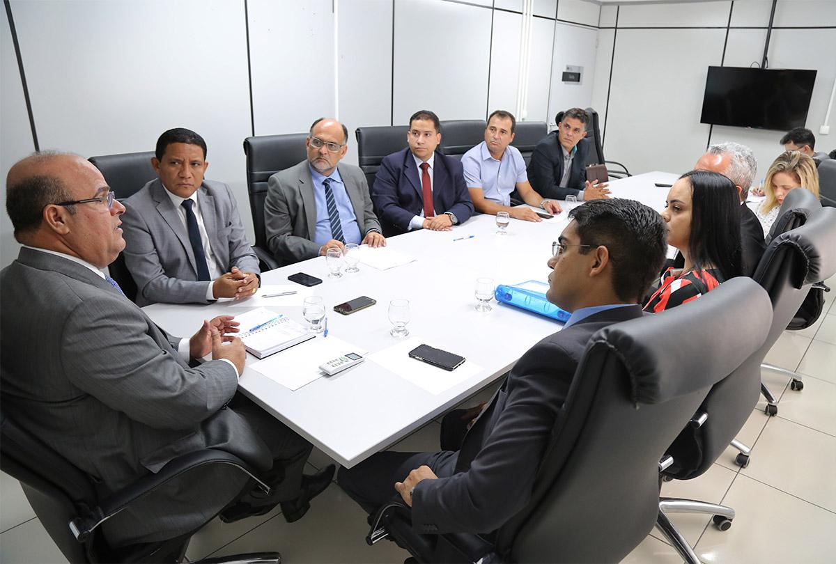 Fernando Tourinho vai agilizar o que compete à Corregedoria Geral da Justiça. Foto: Itawi Albuquerque