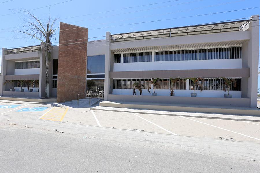 Sede da Corregedoria-Geral da Justiça, no bairro do Pontal, em Maceió.