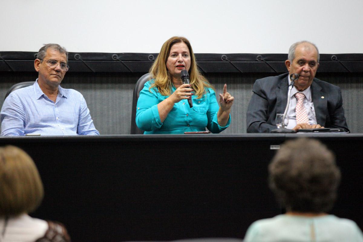 Noélia Costa, do Fórum Permanente de Combate às Drogas. Foto: Itawi Albuquerque