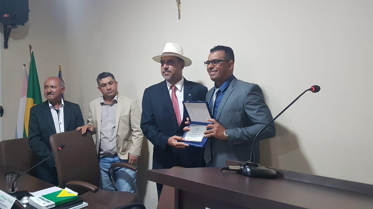 Juiz João Dirceu foi agraciado com o título de cidadão honorário de Inhapi, município do sertão alagoano.