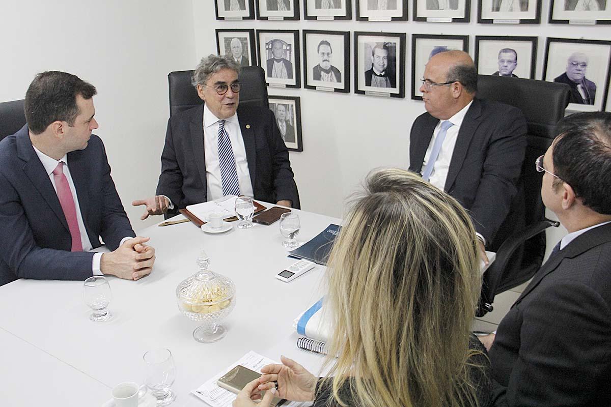 Para o conselheiro Aloysio Corrêa, as inspeções têm o objetivo de promover políticas públicas que beneficiem o Judiciário. Foto: Itawi Albuquerque
