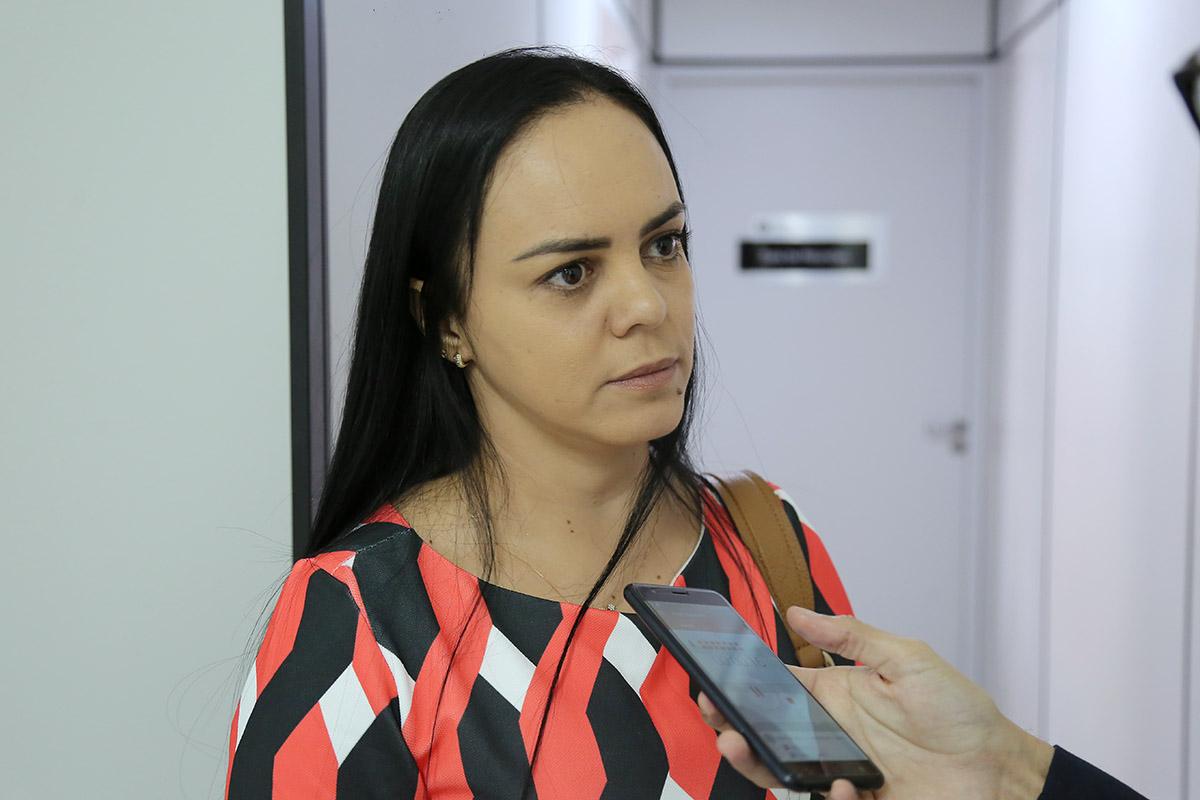 Michelle de Barros, oficial substituta do 2º Serviço Notarial e Registral da cidade de Palmeira dos Índios