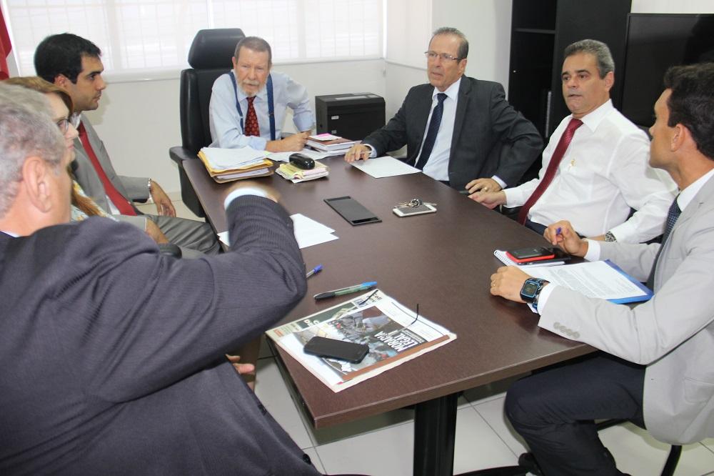 Reunião na Corregedoria tratou de melhorias para as Varas de Execuções Penais