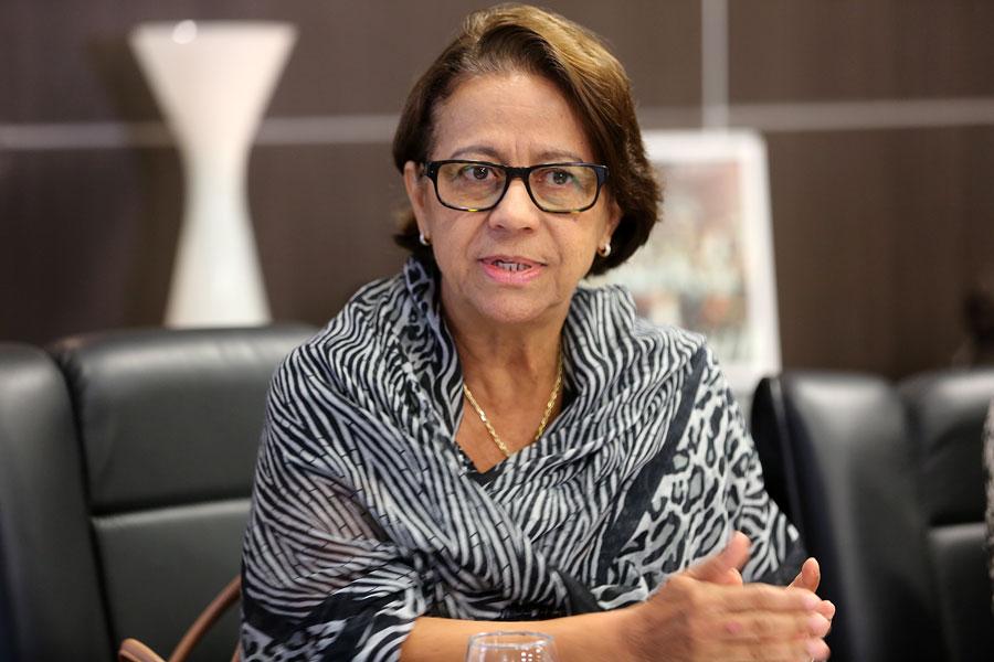 Juíza Fátima Pirauá é a titular da 28ª Vara Cível de Maceió (Infância e Juventude).