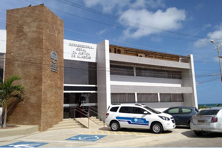 Prédio da Corregedoria Geral da Justiça, no Prado, em Maceió. Foto: Itawi Albuquerque