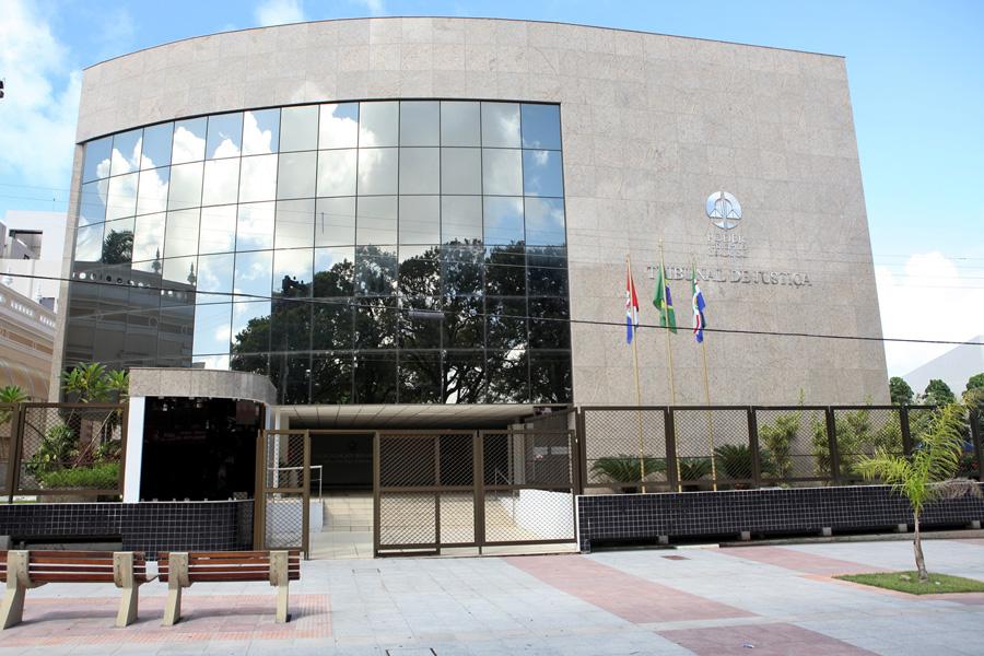 Sede do Tribunal de Justiça de Alagoas, no Centro de Maceió.