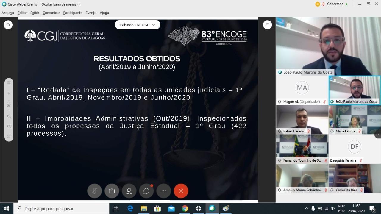 juiz auxiliar da CGJ/AL, João Paulo Martins