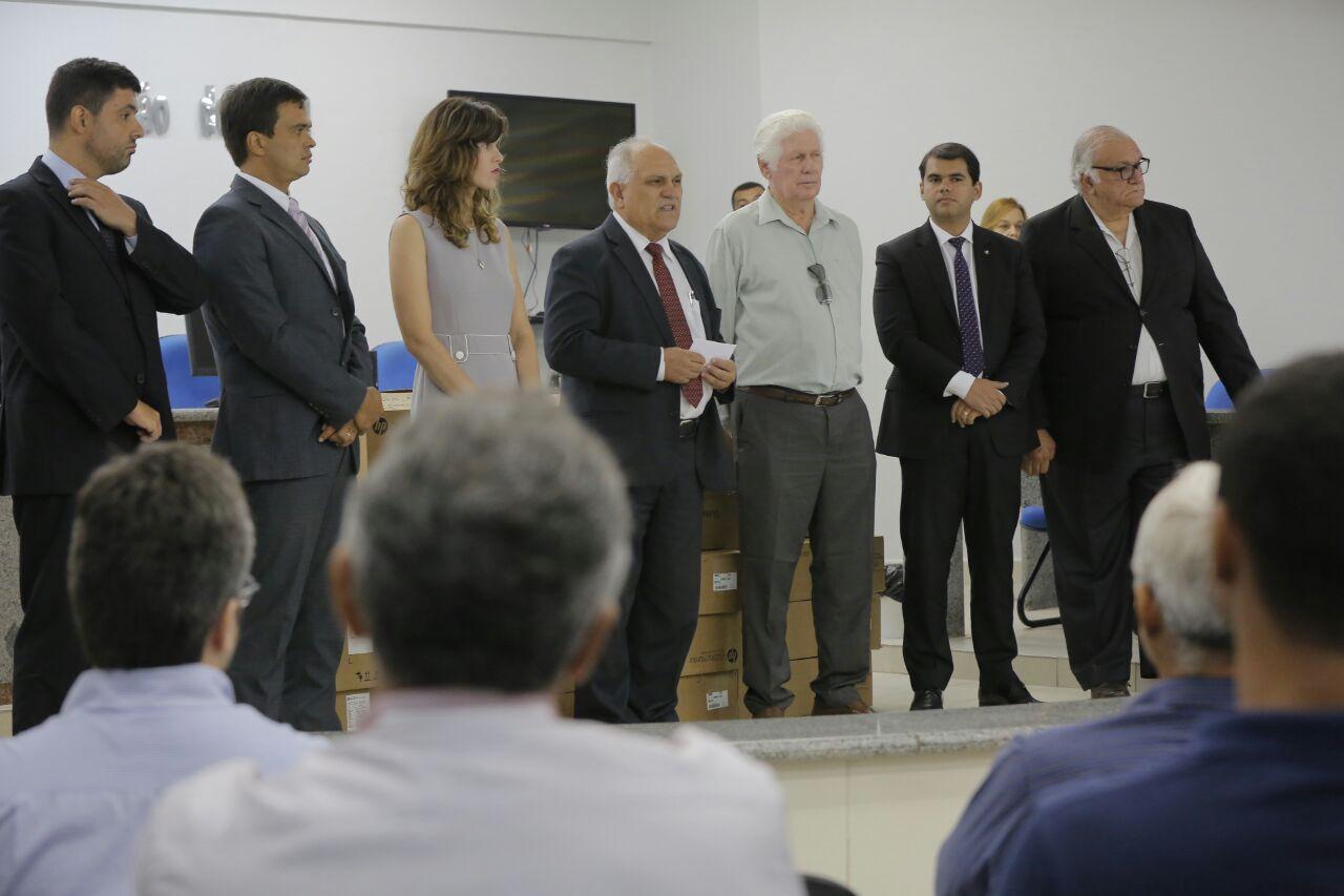 Otávio Praxedes disse que a Presidência está empenhada em dar melhores condições de trabalho aos magistrados e servidores.