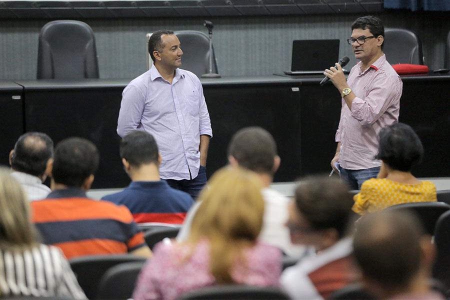 Servidores foram incentivados a participar dos debates.