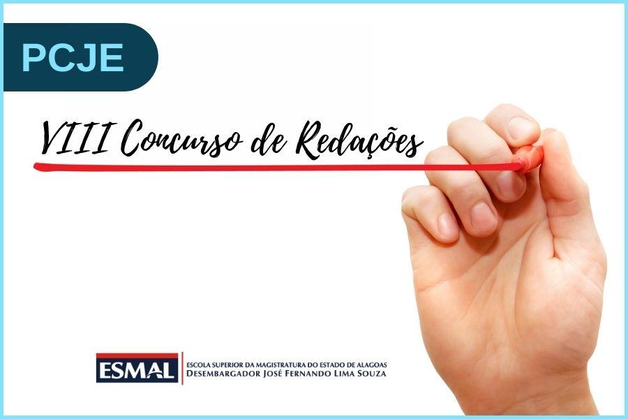 Premiação do VIII Concurso de Redações do PCJE acontece dia 25/10