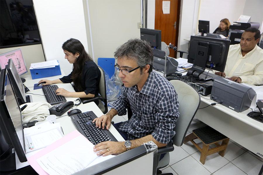 Servidores da DGP atuarão na implantação do programa de gestão de competências - Foto: Caio Loureiro