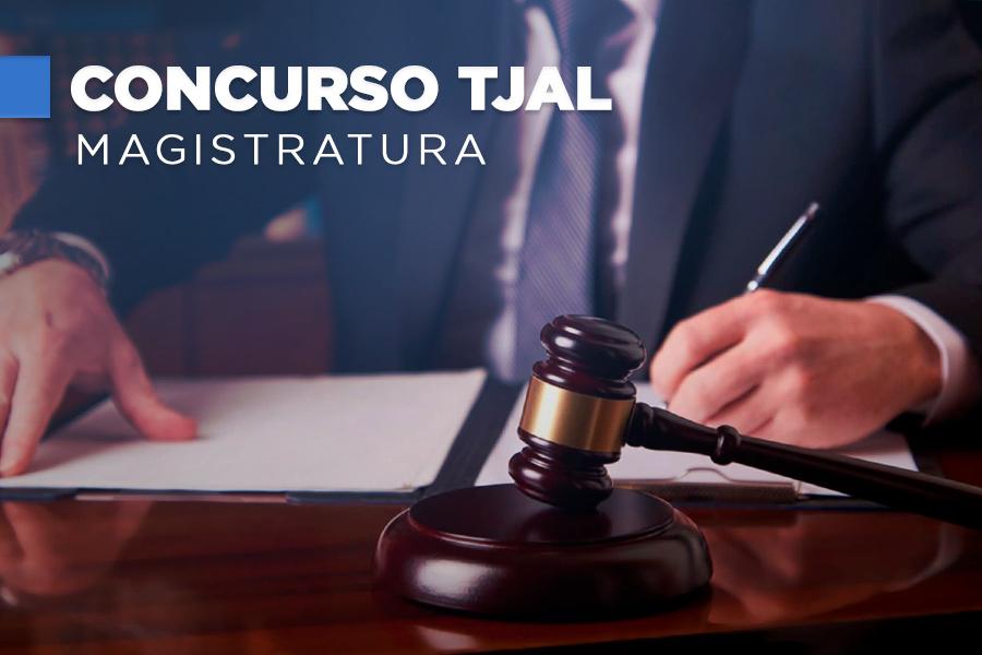 Concurso para juiz do TJAL oferta 20 vagas.