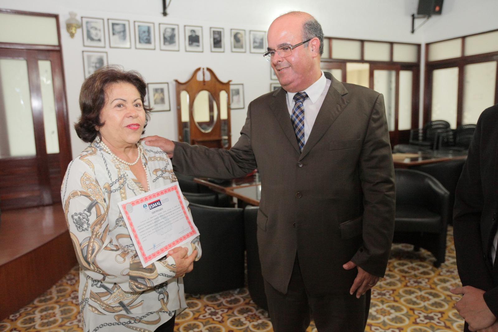 Sebastiana Bartira ficou tão empolgada com o curso que encerrou atividades práticas antes do prazo.
