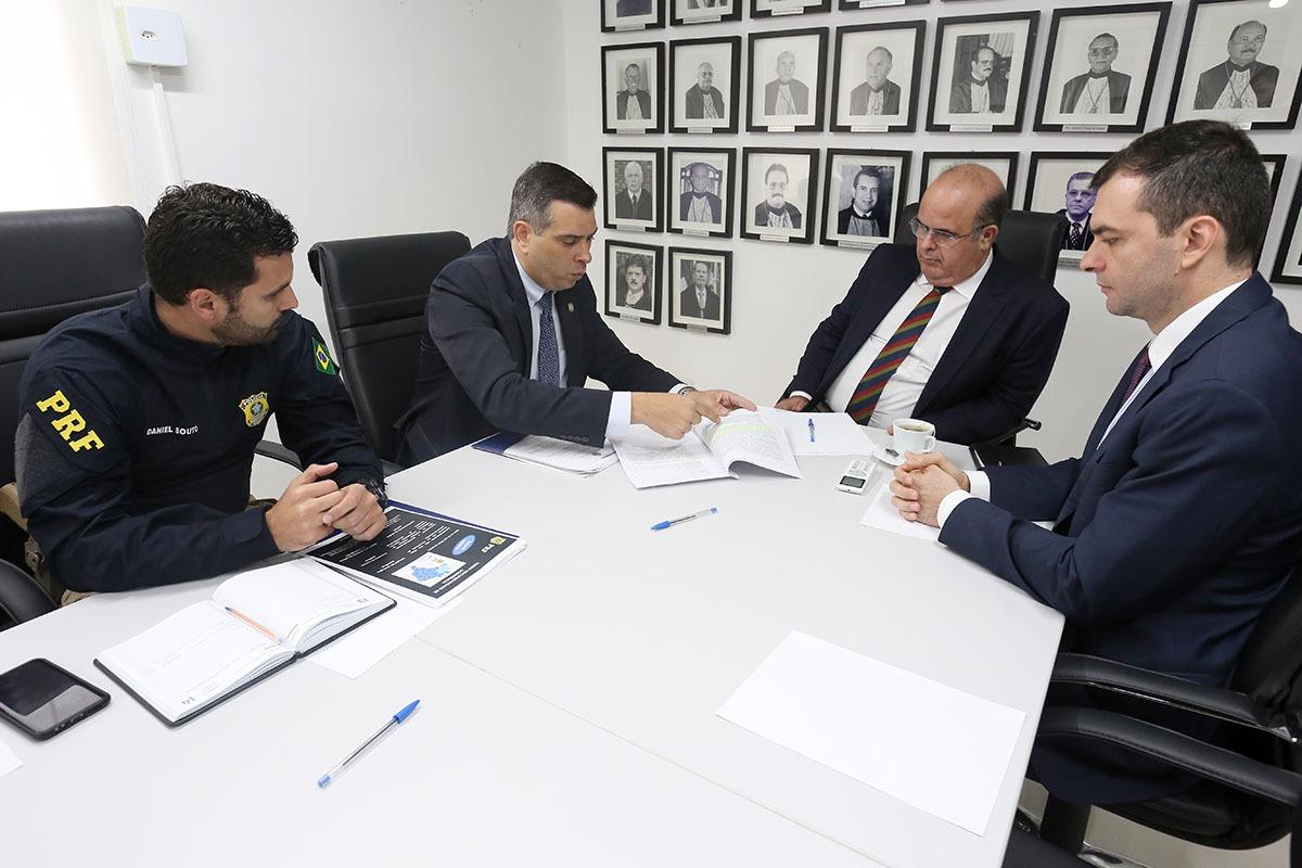 Reunião ocorreu no prédio da CGJ/AL, no Prado. Foto: Itawi Albuquerque