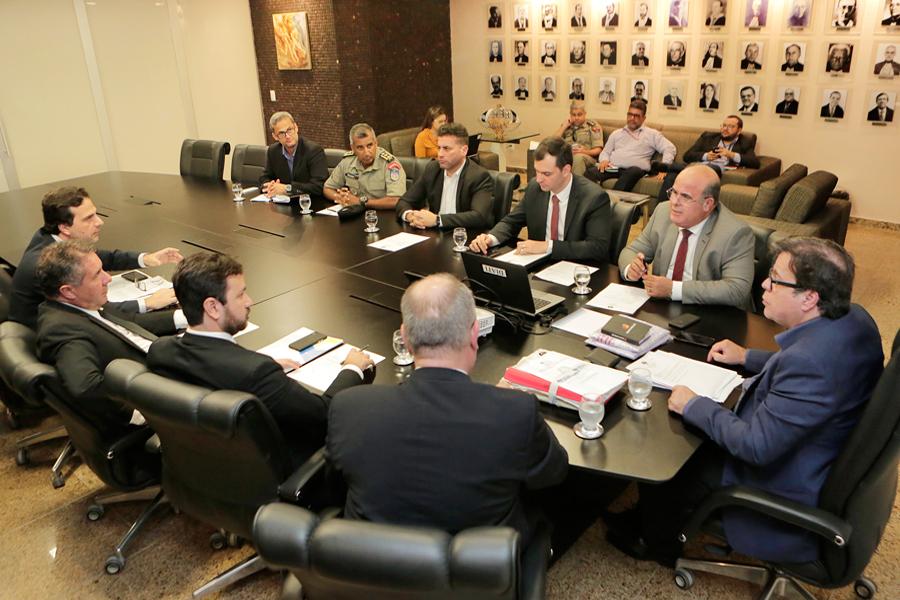 Reunião foi realizada na Presidência do TJAL. Foto: Adeildo Lobo