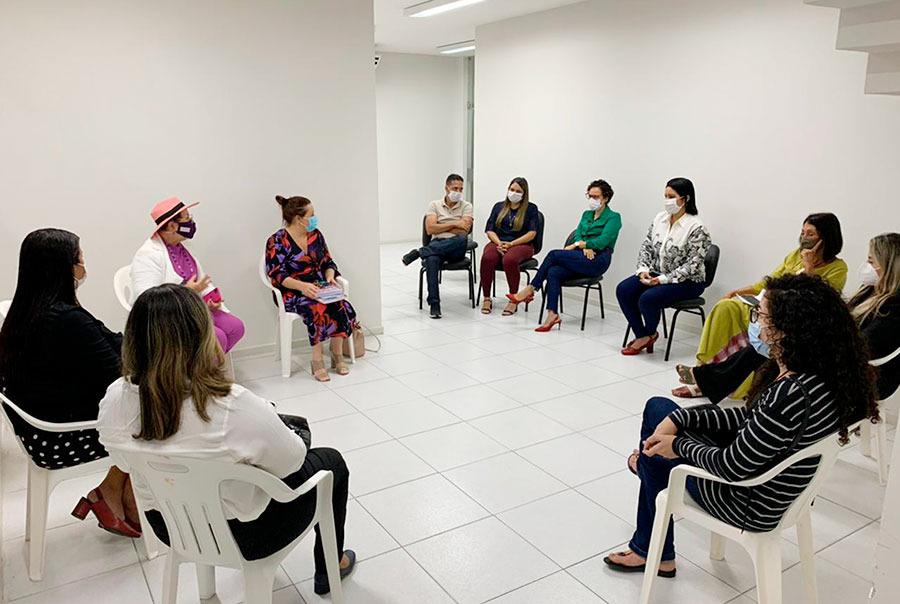 Tereza Nelma destaca atuação da Casa da Mulher Alagoana