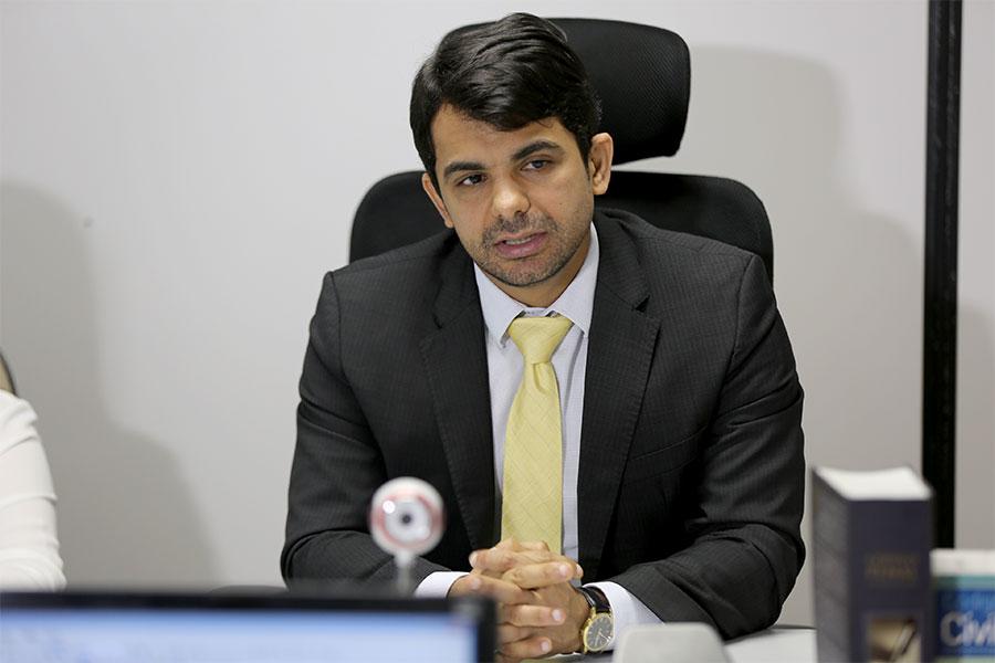 Juiz Helestron Costa, titular do Juizado Especial de São Miguel dos Campos.