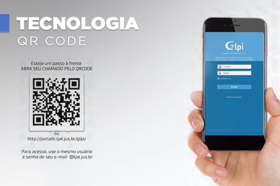 Servidores podem abrir chamados na Diati por QRCode