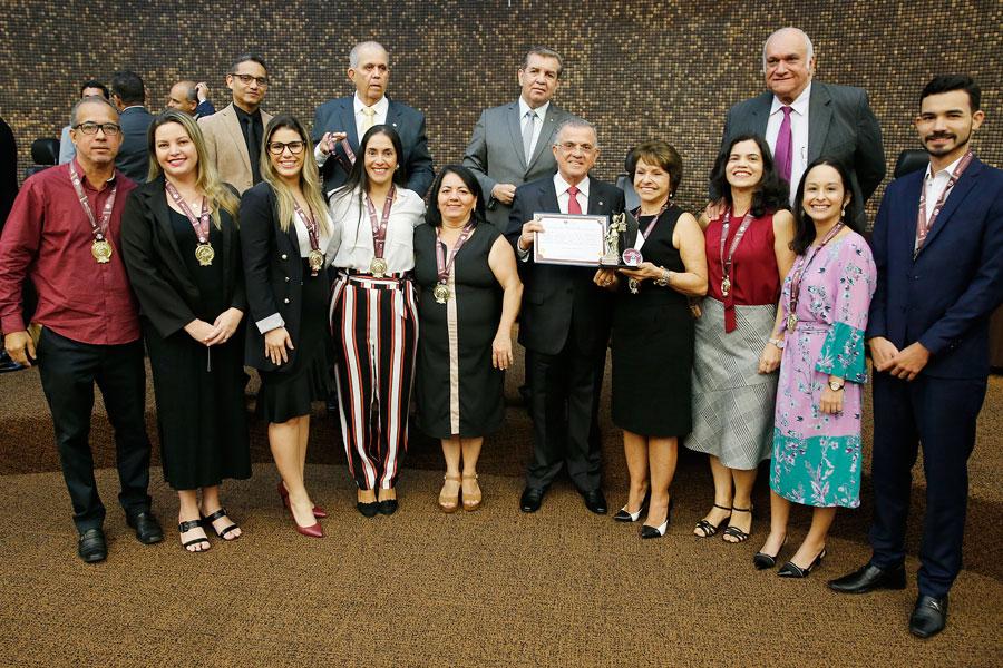 Equipe da 22ª Vara Cível de Maceió foi agraciada durante solenidade do Juízo Proativo.