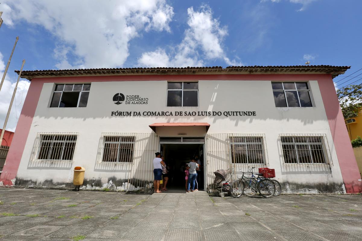 Fórum de São Luís do Quitunde é considerado prioridade pela Corregedoria. Foto: Itawi Albuquerque
