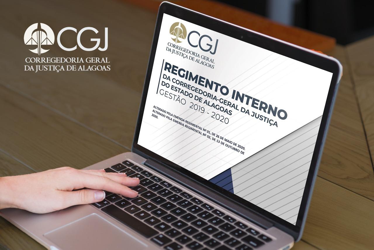 Atividades da CGJAL agora seguem parâmetros de um Regimento Interno
