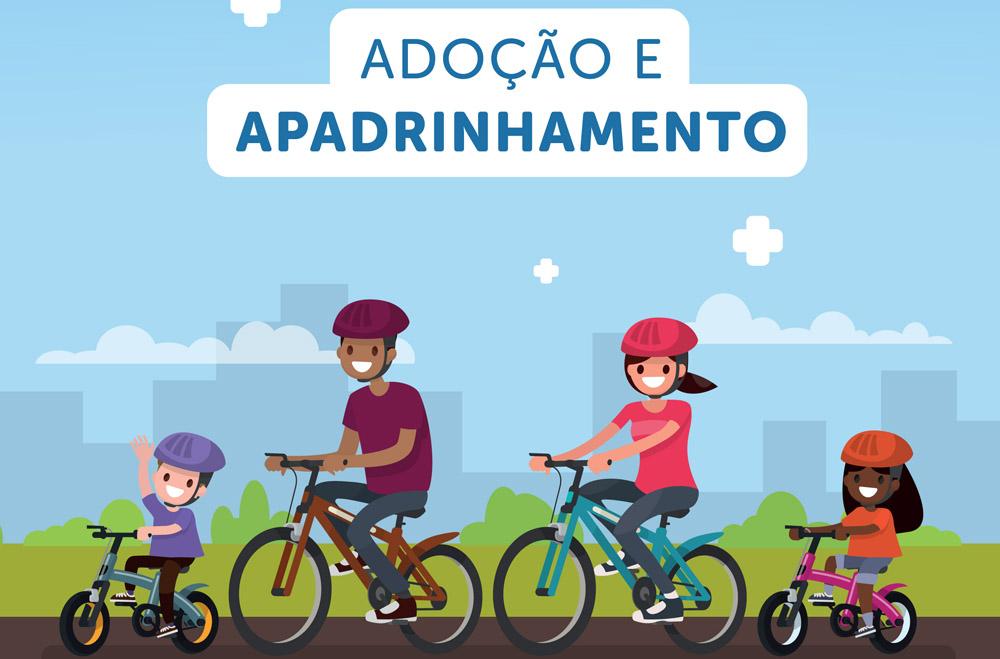 28ª Vara Cível: folder orienta sobre adoção e apadrinhamento de crianças e adolescentes