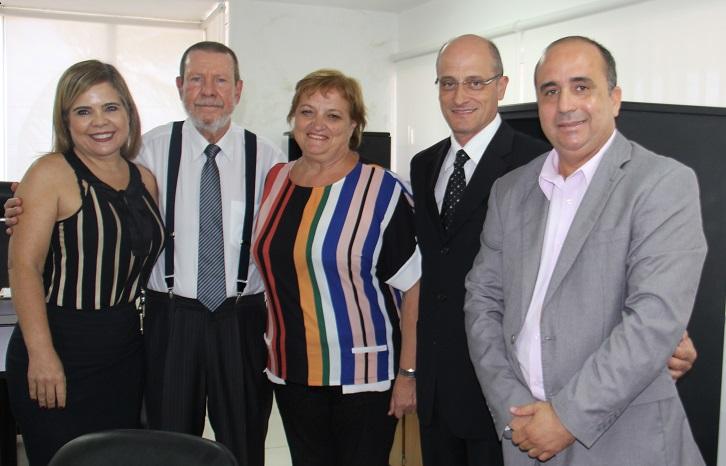 Representantes do Il Mantello foram recebidos pelo corregedor-geral da Justiça, no dia 27 de novembro