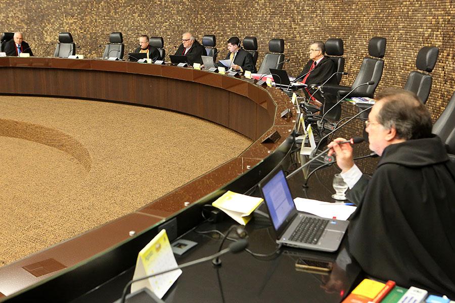 Sessão da Câmara Criminal realizada no último dia 31 (Foto: Caio Loureiro)