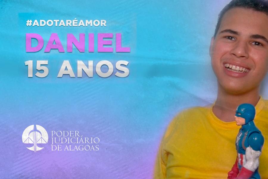 Adoções Possíveis: conheça um pouco do Daniel Neves, de 15 anos