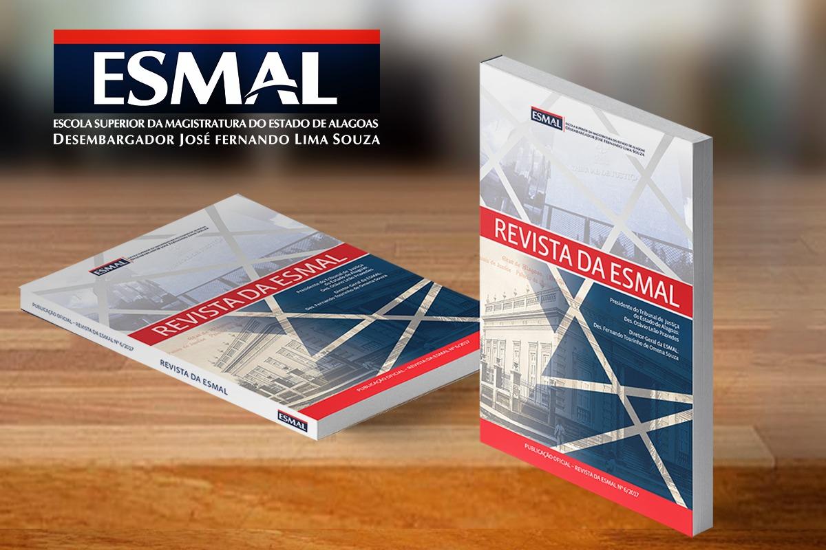 Edição de 2018 da Revista da Esmal recebe submissão de artigos até 30 de junho