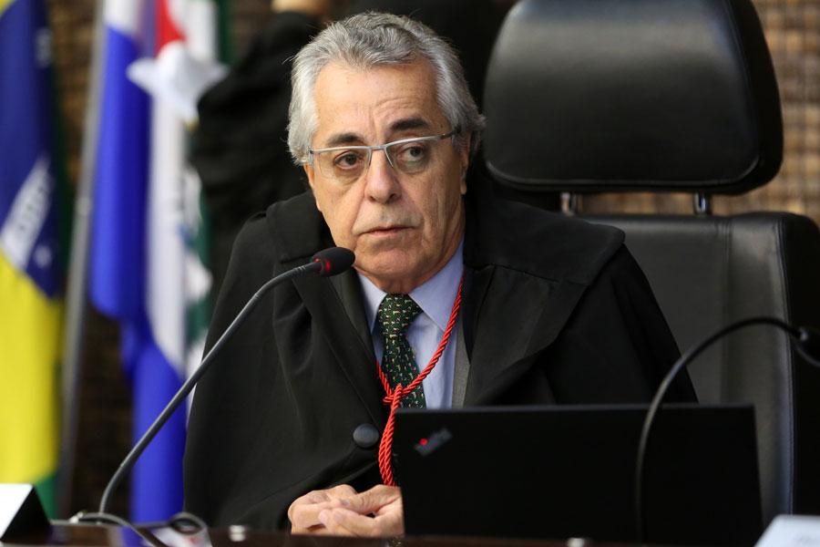Desembargador Alcides Gusmão, relator do processo. Foto: Caio Loureiro