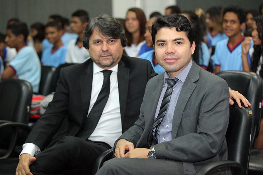 Magistrados Alberto Jorge de Lima e Hélio Pinheiro. Foto: Itawi Albuquerque