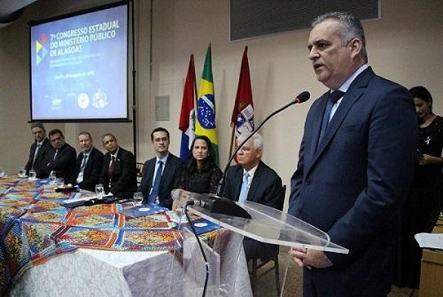 Corregedor participa do VII Congresso do Ministério Público