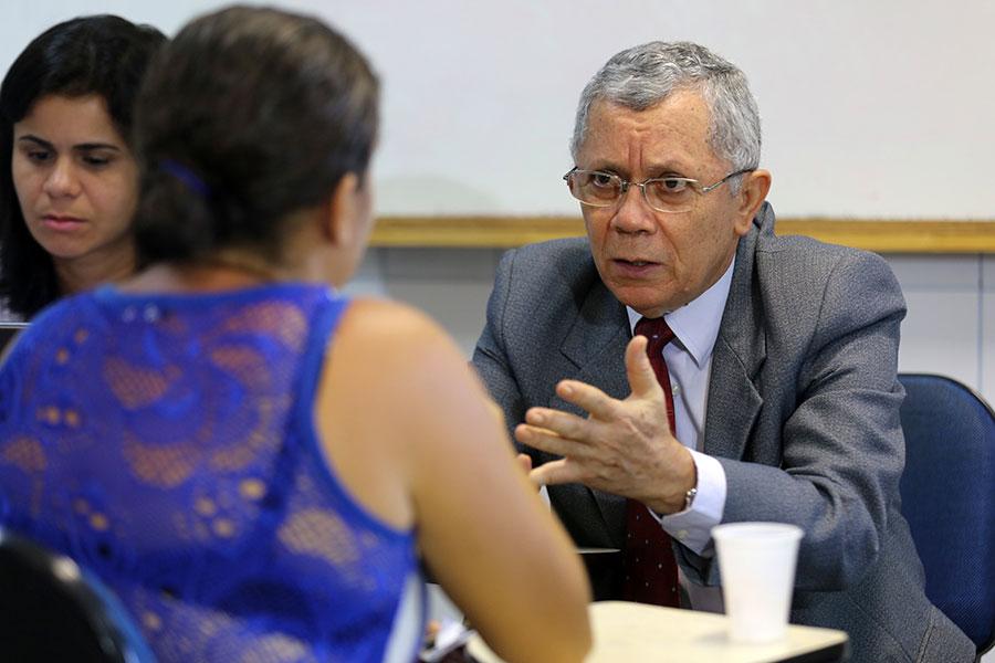 Juiz Paulo Zacarias será um dos que atuarão durante a força-tarefa em Maceió (Foto: Caio Loureiro)