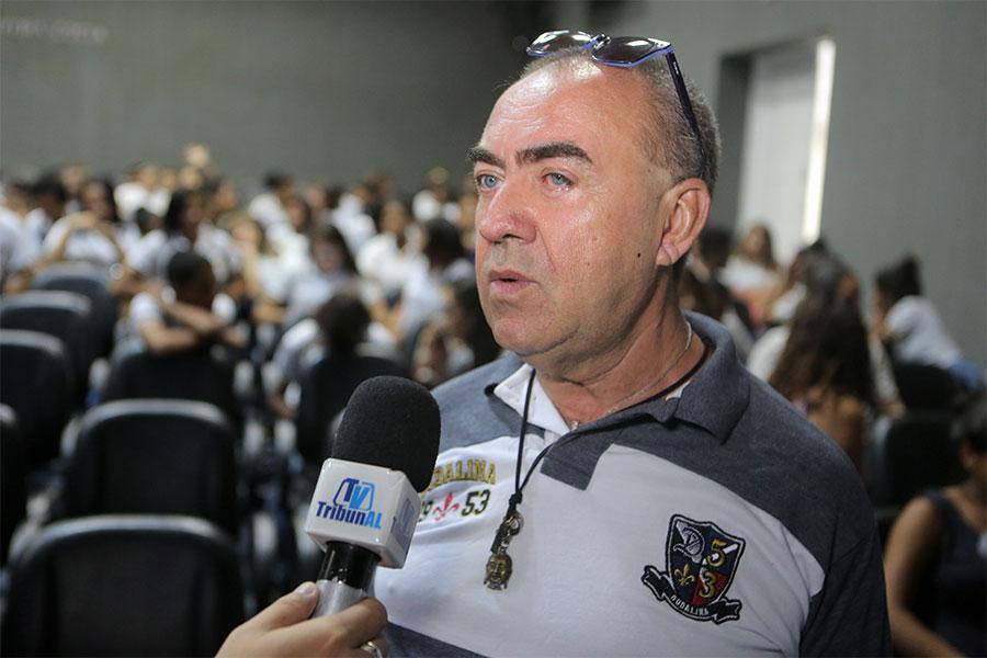 Professor José Cícero Wanderley.