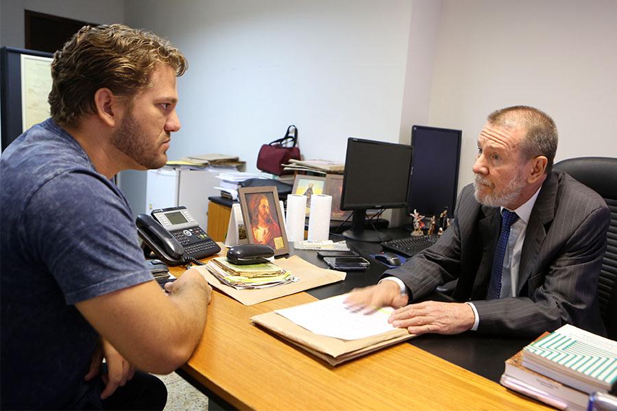 Presidente do Sindapen, Kleyton Anderson, formalizou denúncias junto à Corregedoria